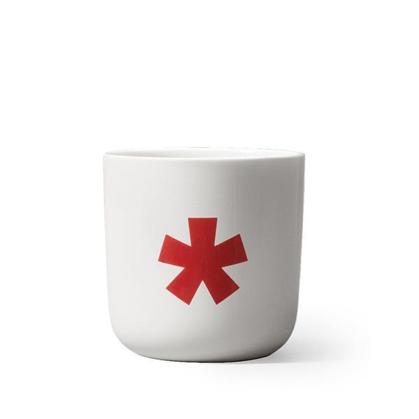 PLAYTYPE Red Glyphs Mug - Asterix