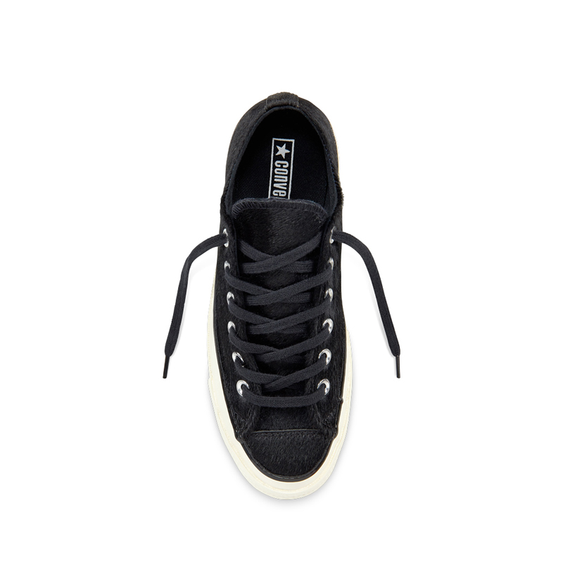 1a60439f8e1 CONVERSE All Star Chuck Taylor 70s OX Cheetah Pony Hair – Black. 🔍 Out of  Stock