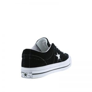 Zapatillas One Star Premium Suede - Black