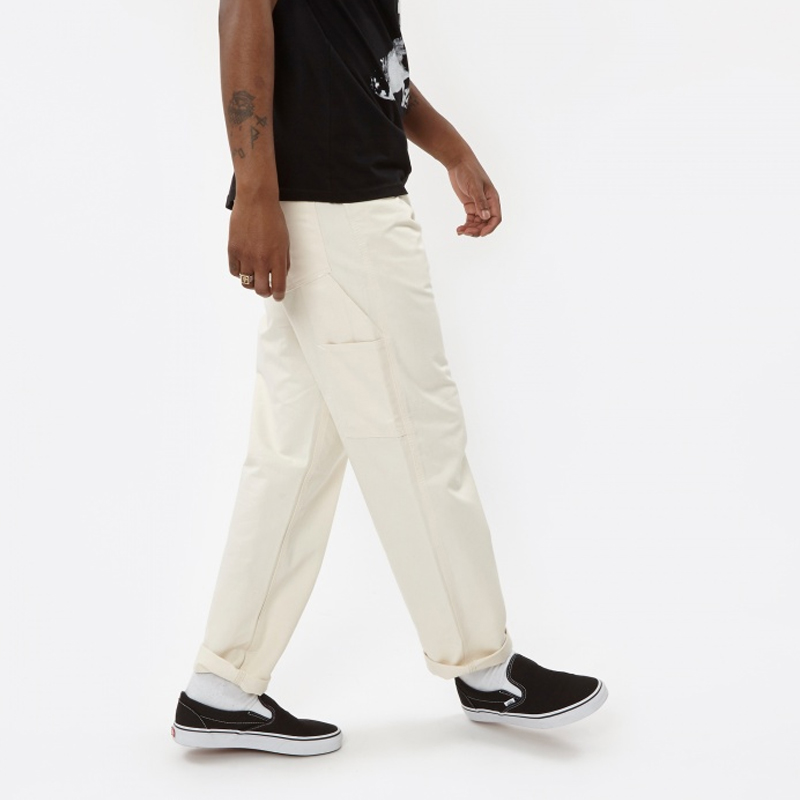 STAN RAY Pantalones Painter Wide Leg - Natural