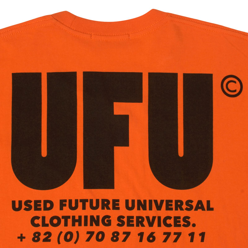 USED FUTURE UFU AD T-shirt
