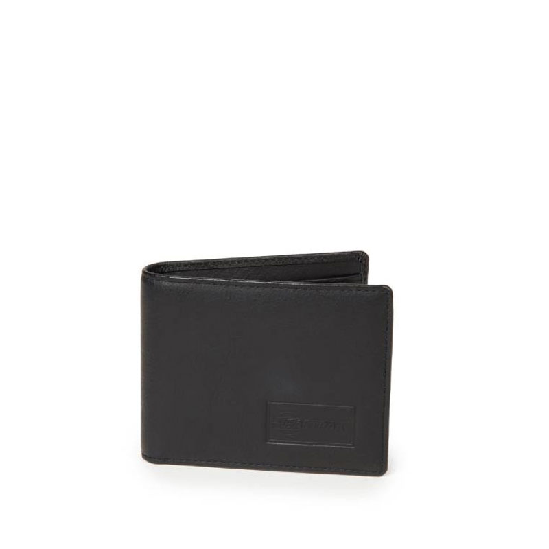 EASTPAK Cartera Drew RFID Leather - Black Ink