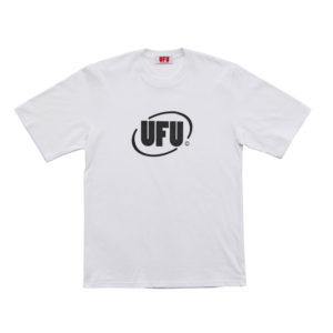 USED FUTURE Round Logo T-shirt