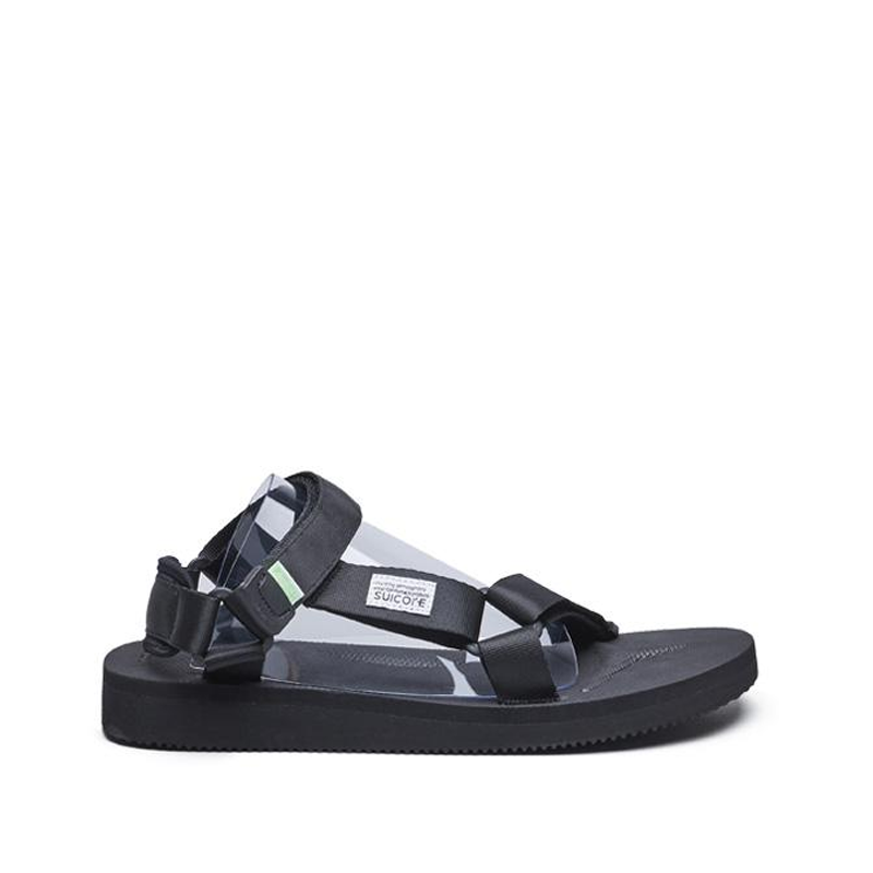 SUICOKE Depa-Cab Sandals - Black