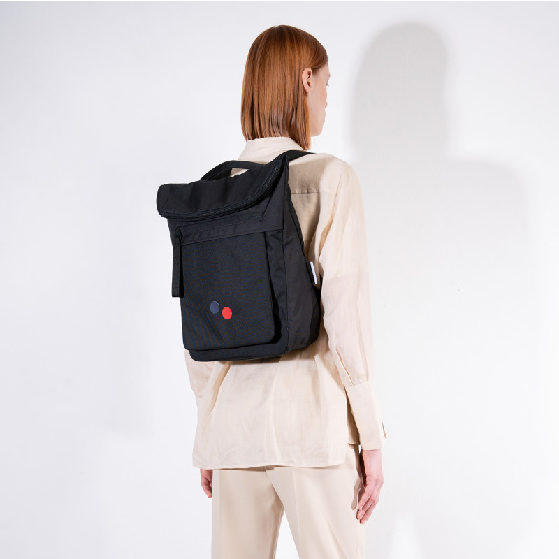 PINQPONQ Klak Backpack - Rooted Black