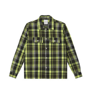 WOOD WOOD Camisa Franco - Green check