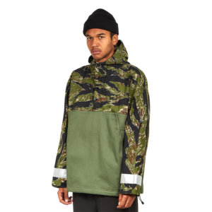 STAN RAY Chaqueta Anorak - Olive / Tiger Stripes Ripstop