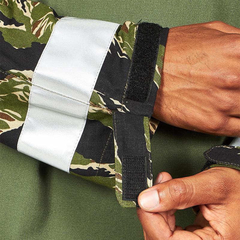 STAN RAY Chaqueta Anorak - Olive / Tiger Stripes Ripstop