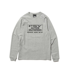P.A.M. (PERKS & MINI) PAM Sum Of It's Parts LS Tee - Grey Marley