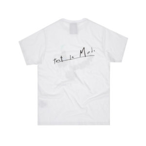 P.A.M. (PERKS & MINI) Camiseta Tout Le Monde - Optical White