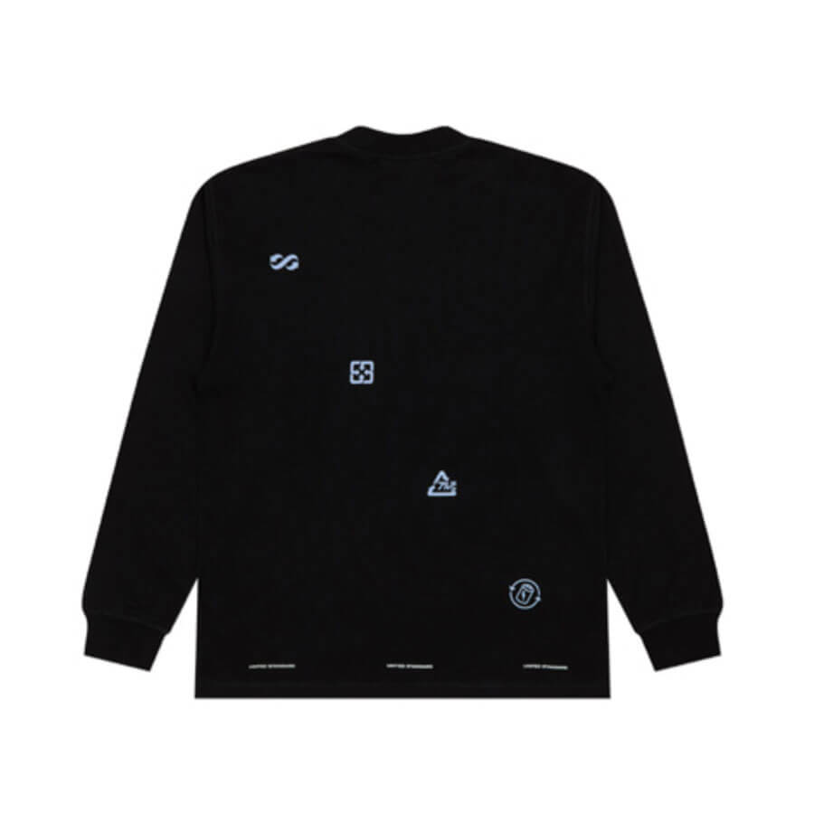 UNITED STANDARD Virgil Logos LS T-shirt