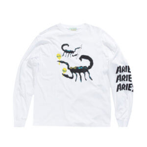 Aries Scorpion Longsleeve Tee