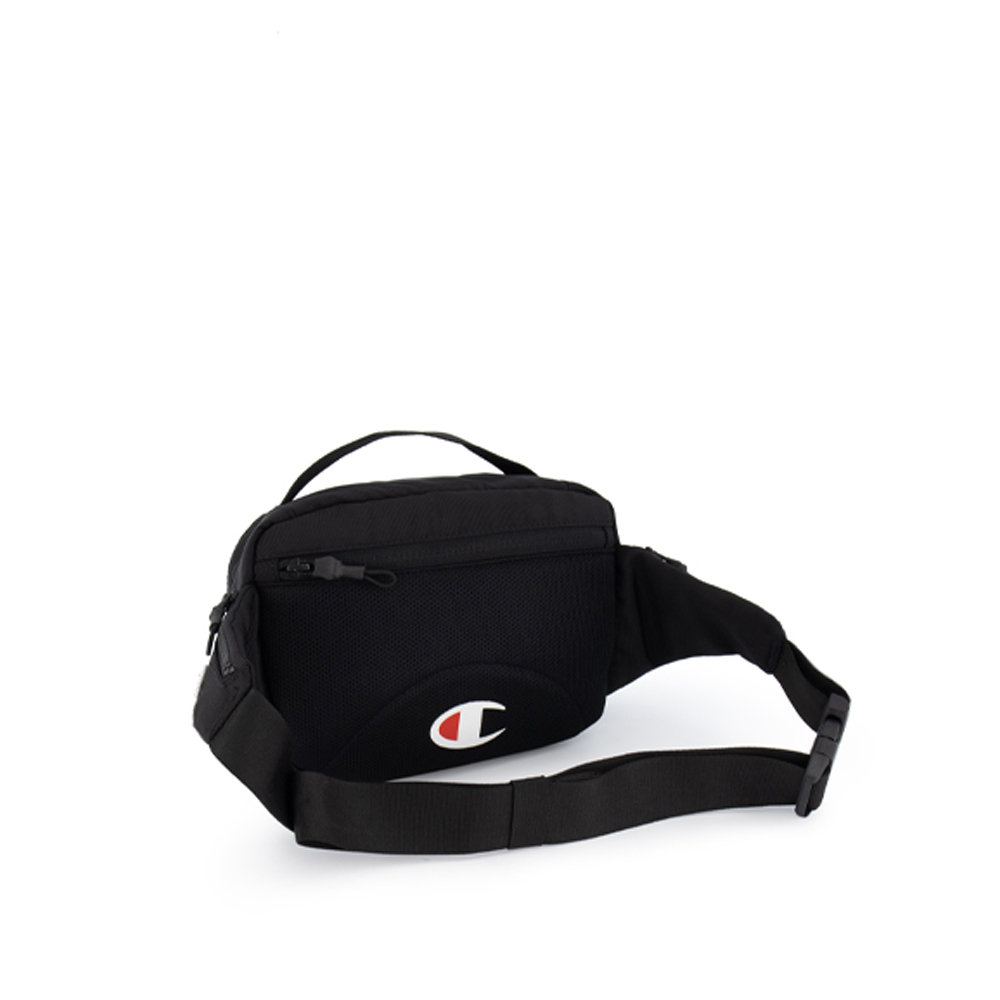 CHAMPION REVERSE WEAVE Script Logo Belt Bag - Black