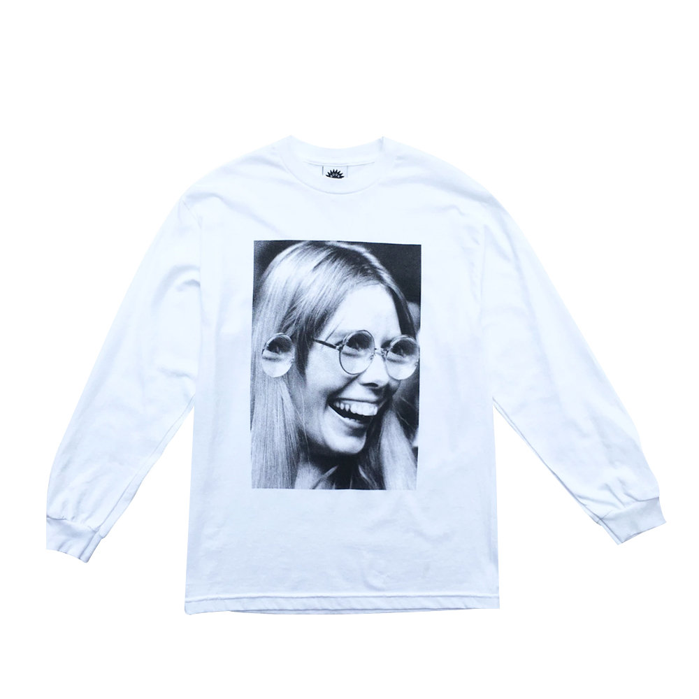 GOOD MORNING TAPES Camiseta LS Jhonn John Jonn White