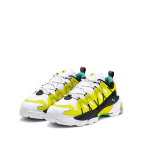 PUMA LQDCELL Omega Lab Trainers - Yellow 2