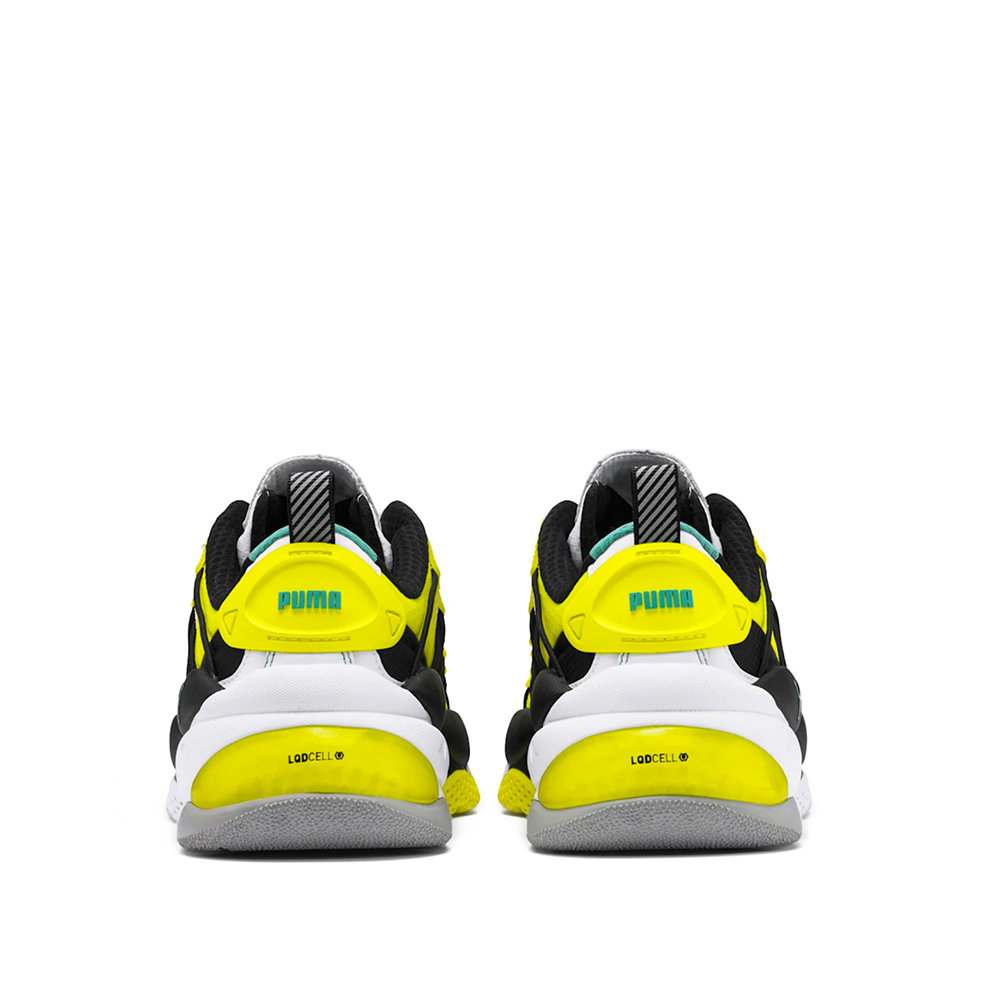 PUMA LQDCELL Omega Lab Trainers - Yellow 3