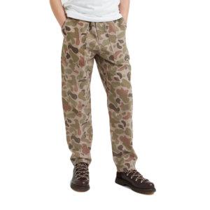 WOOD WOOD Pantalones Halvard - Taupe AOP