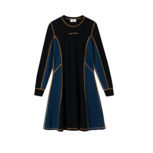 WOOD WOOD Vestido Mandy - Black / ColorBlock
