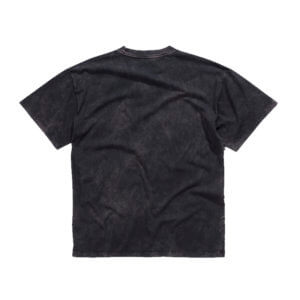 ARIES Camiseta Aries Jeans Acid Wash - Black