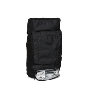 PINQPONQ Mochila Blok Medium - Polished Black