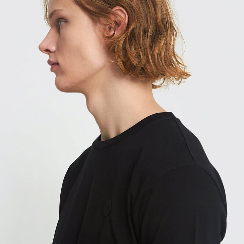WOOD WOOD Ace T-shirt - Black