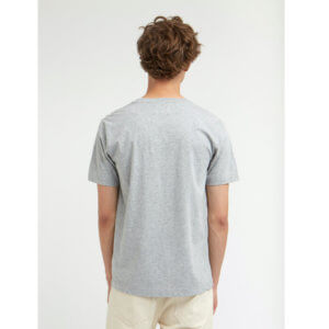 WOOD WOOD Camiseta Ace - Light Grey Melange