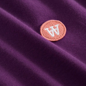WOOD WOOD Double-A Uma T-shirt - Aubergine