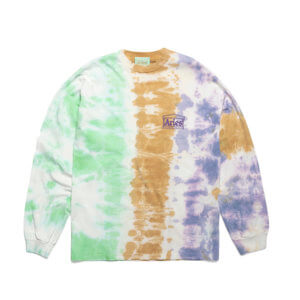 ARIES Ripple Tie Dye LS Tee - Multicolor