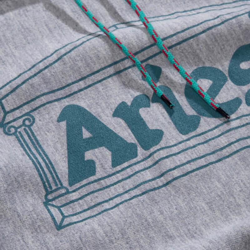 ARIES Temple Hood - Grey Marl