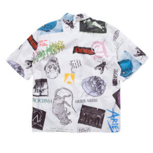 ARIES Camisa Thrasher Hawaiian - Multicolor