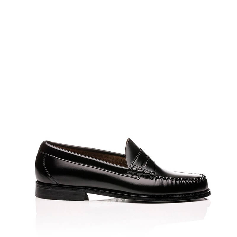 G.H. BASS Mocasines Mujer Weejuns Penny - Black Leather