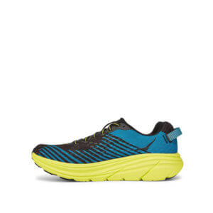 HOKA ONE ONE Rincon Sneakers - Black / Citrus