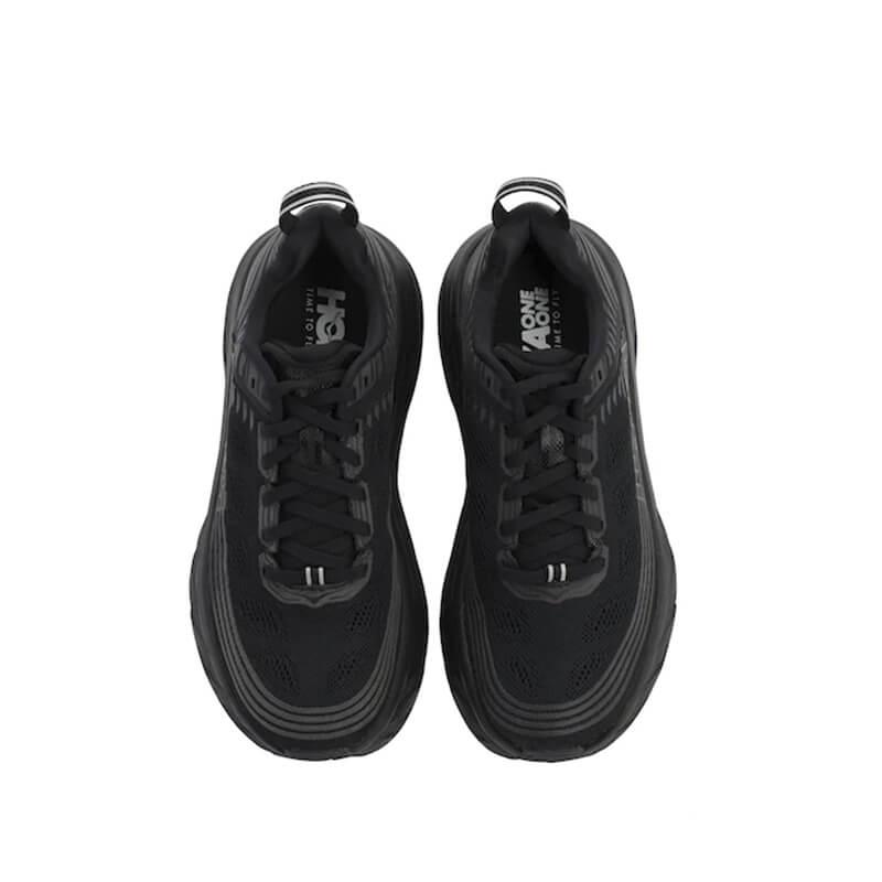 HOKA ONE ONE Bondi 6 Sneaker - Black / Black