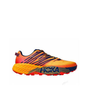 HOKA ONE ONE Speedgoat 4 Sneakers - Gold Fusion / Black Iris