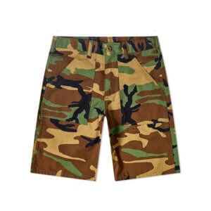 STAN RAY Fatigue Short - Woodland Camo
