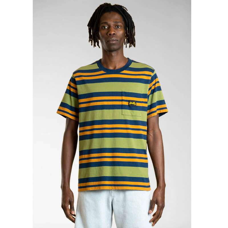 STAN RAY Yarn Dye Stripe Thick T-Shirt