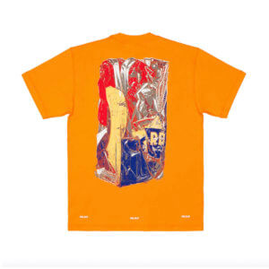 UNITED STANDARD Virgil Abloh x Recycle T-shirt - Orange