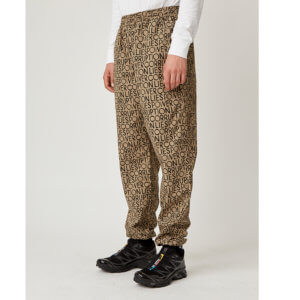 WOOD WOOD Halsey Trousers - Taupe AOP
