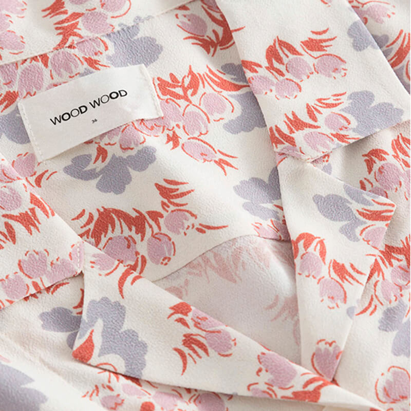 WOOD WOOD Johanne Shirt - Floral AOP