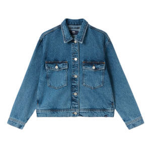 WOOD WOOD Marie Denim Jacket - Classic Vintage