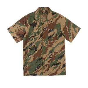 MAHARISHI 8520 Camo Camp Collar Shirt