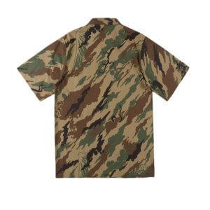 MAHARISHI 8520 Camo Camp Collar Shirt 2