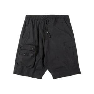 MAHARISHI 8582 Detachable Pocket Cargo Shorts - Black