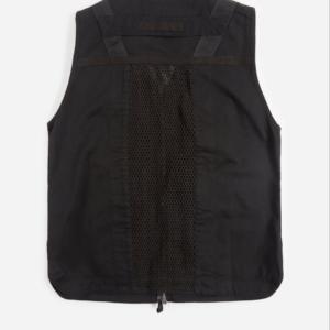 MAHARISHI 8535 Scrim Net Cargo Vest - Black 2