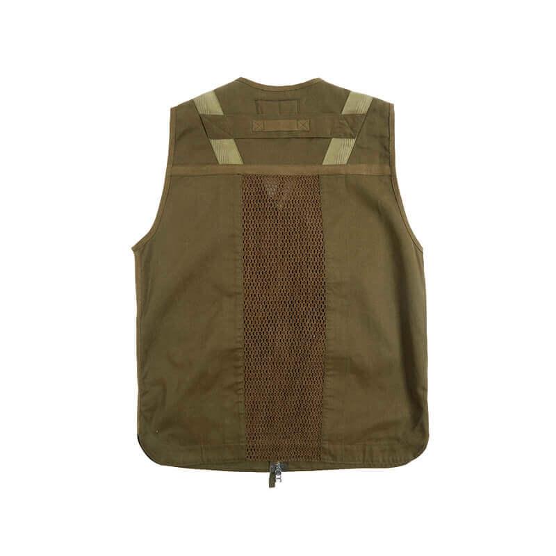 MAHARISHI 8535 Scrim Net Cargo Vest - Mil Olive 2