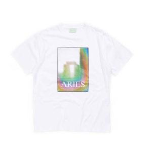 ARIES Camiseta Stonehenge Polaroid - White