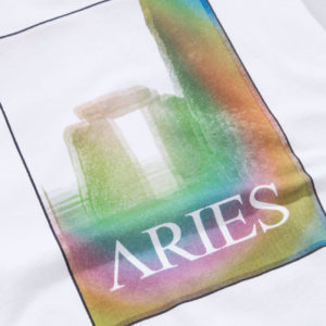 ARIES Camiseta Stonehenge Polaroid - White