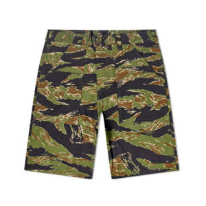 STAN RAY Fatigue Short - Green Tigerstripe