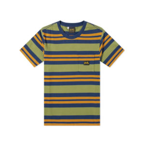 STAN RAY Camiseta Yarn Dye Stripe Thick - Navy Border