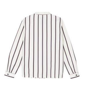 STUSSY Camisa Zip Up Work – Stripes